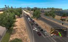 Traffic AI Mod for Euro Truck Simulator 2 rear-left view