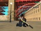 Gold gun`s by Nikitos1k2207 для GTA San Andreas вид изнутри