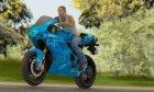Ducati Desmosedici RR 2012 Blue Star for GTA San Andreas right view