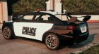 Police Kuruma v1.2 for GTA 5 left view
