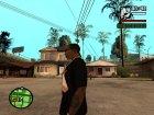 "Футболка с знаком зодиака ""Весы"" для GTA San Andreas вид слева"