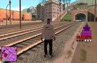 Hud Ballas для GTA San Andreas вид слева