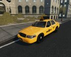 Ford Crown Victoria NYC Taxi 2012 for GTA 4 right view