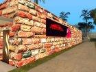 Venum Gym для GTA San Andreas вид сбоку