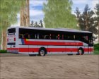 Nissan Diesel UD Santarosa Peoples Transport Corporation Berline LVIII для GTA San Andreas вид сзади