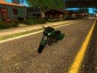 Bagger из GTA V для GTA San Andreas вид слева