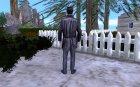 Max Payne in SA for GTA San Andreas rear-left view