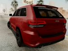 Jeep Grand Cherokee SRT-8 for GTA San Andreas top view