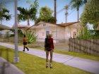 Harley Quinn - Suicid Squad (Injustice) для GTA San Andreas вид сзади слева