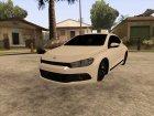 Volkswagen Scirocco for GTA San Andreas rear-left view