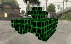 Pixel Tank для GTA San Andreas вид сверху