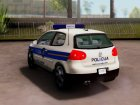 Golf V - Croatian Police Car для GTA San Andreas вид справа