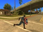 Captain America shield v1 для GTA San Andreas вид сверху