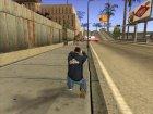 Толстовка Лос-Сантос для GTA San Andreas вид сзади слева