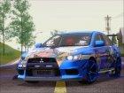 Mitsubishi Lancer Evolution X Taihou Itasha для GTA San Andreas