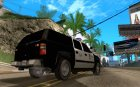 Chevrolet Suburban Los Angeles Police for GTA San Andreas top view