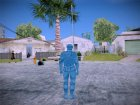 Blue Solider from Army Men Serges Heroes 2 для GTA San Andreas вид сверху