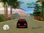 Toyota Supra Black for GTA Vice City top view