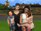 Family Photo Posepack для Sims 4 вид слева