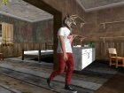 Skin HD GTA V Online парень в маске волка for GTA San Andreas top view