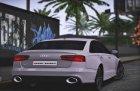Audi RS6 C7 Sedan 2016 для GTA San Andreas вид справа