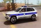 BMW X5 - Croatian Police Car for GTA San Andreas left view