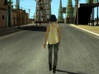 Chloe Price From Life Is Strange (Price Shirt Episode 4) для GTA San Andreas вид сзади слева