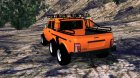 "ВАЗ 2121 6x6 ""Orange style"" для Street Legal Racing Redline вид сверху"