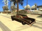 Chevrolet Bel Air 1956 Rat Rod Street for GTA San Andreas top view