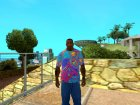 Футболка Психоделика для GTA San Andreas вид слева