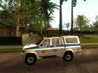 УАЗ-Симбир ДПС для GTA San Andreas вид слева