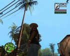 Футболка Hitman для GTA San Andreas вид сбоку