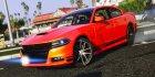 2016 Dodge Charger 1.0 для GTA 5 вид слева