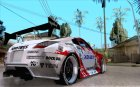 Nissan 350Z Xanavi for GTA San Andreas top view