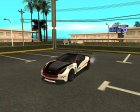 Dewbauchee Massacro для GTA San Andreas вид справа