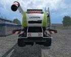 Claas Lexion 770 TT for Farming Simulator 2015 top view