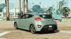 Hyundai Veloster (Livery support) for GTA 5 left view