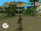 Военный Томми для GTA Vice City вид сверху