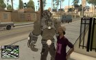 Bane Boss from Batman Arkham City для GTA San Andreas вид сверху