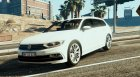 Danish 2015 Volkswagen Passat R-Line - Unmarked Version for GTA 5 left view