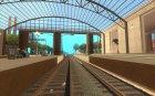 Высокие платформы на ж/д станциях для GTA San Andreas вид слева