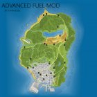 Advanced Fuel Mod 1.3 for GTA 5 side view