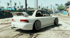 Subaru Impreza 22B Street Stanced for GTA 5 rear-left view
