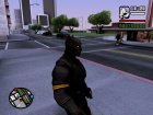 Black Panther Skin for GTA San Andreas left view