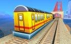 Пассажирский поезд 2 из Subway Surfers для GTA San Andreas вид слева