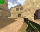 AK-47 - Green Force for Counter-Strike 1.6 left view