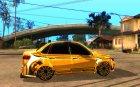 Lada Granta - ВАЗ 2190 GOLD for GTA San Andreas inside view