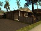 Новые дома на Грув-Стрит для GTA San Andreas вид сзади слева