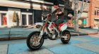 Honda CRF 450 Turbo Motard для GTA 5 вид слева
