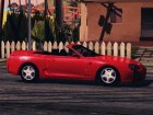 Toyota Supra Cabrio for GTA San Andreas rear-left view